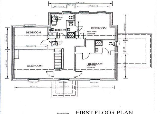 Capture two first floor plan